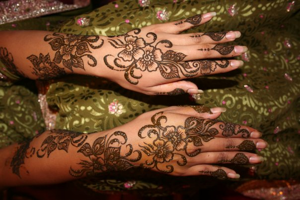 Mehndi Patterns History : October final minor project page